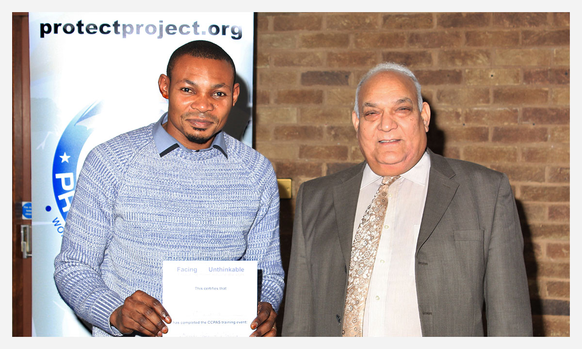Councilor Mahmood Hussain at Protect Project Events