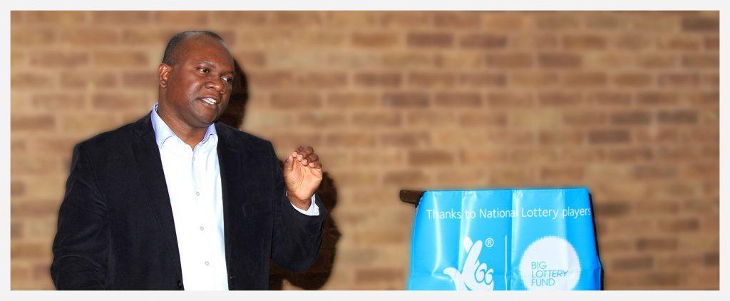 Raoul Pita (Project C-ordonator) - Safeguarding African Children session